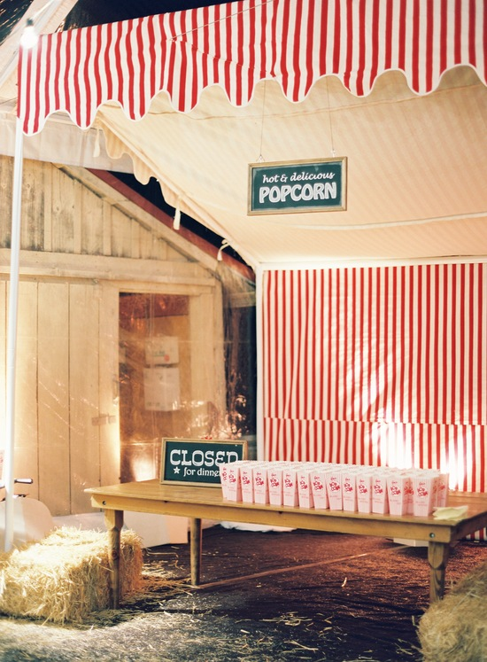 wedding-santa-barbara-chic-outdoor-barn-circus-fair-food-jose-villa-unique-wedding-appetizers-popcorn-station-9