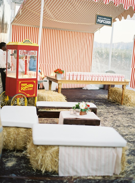wedding-santa-barbara-chic-outdoor-barn-circus-fair-food-jose-villa-unique-wedding-appetizers-setup-11