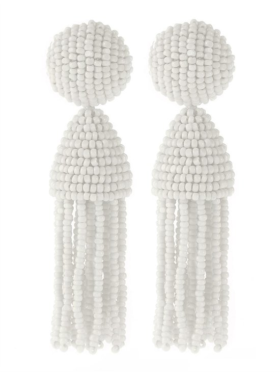 oscar de la renta bridal accessories wedding earrings