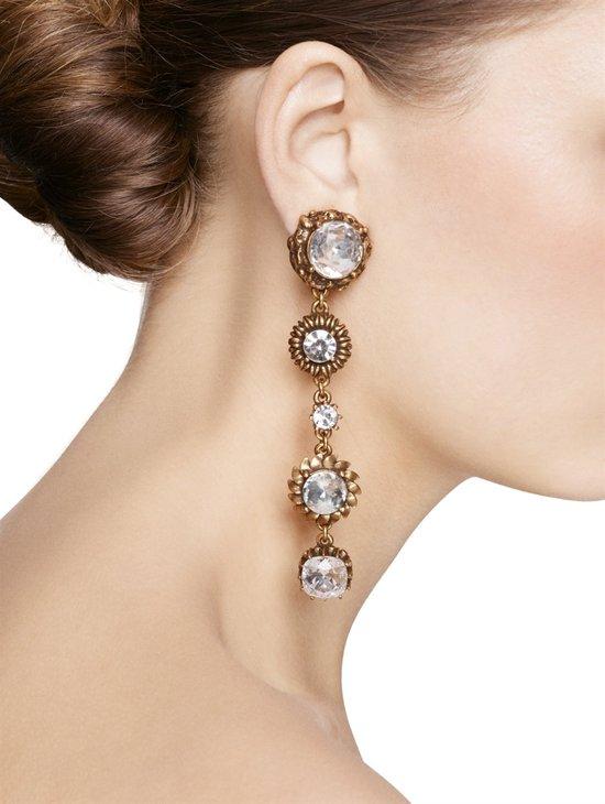 photo of Oscar de la Renta earrings, $355