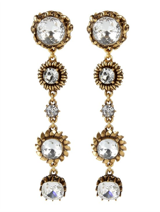 photo of Oscar de la Renta earrings, $355