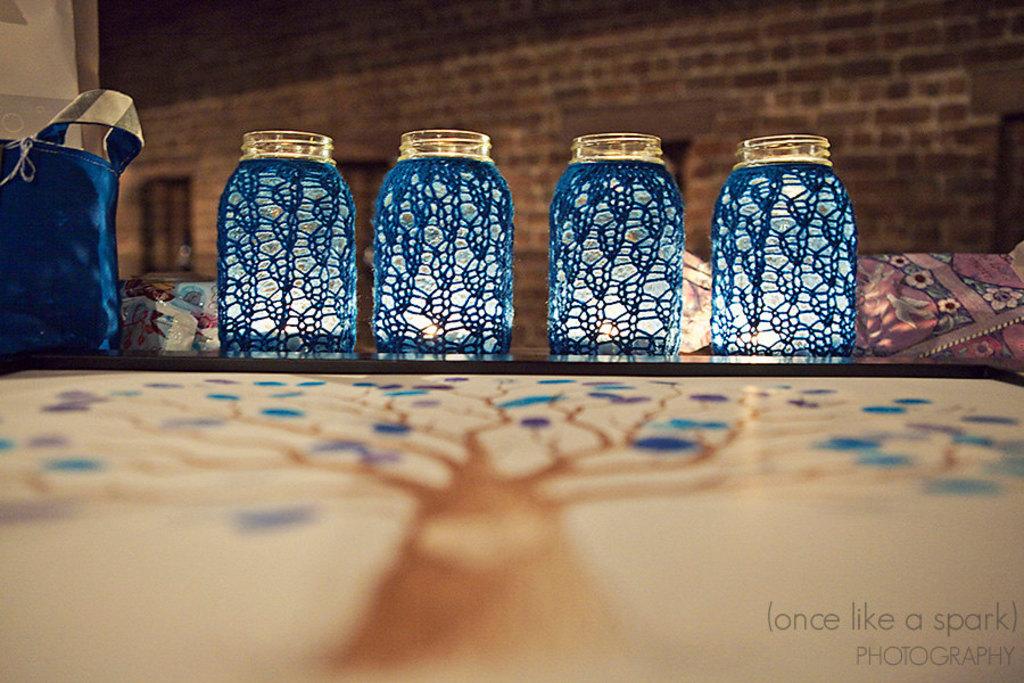 Things Brides Love Mason Jar Wedding Reception Decor Centerpieces Aqua Is Sweet
