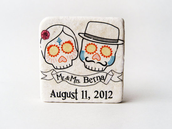 handmade wedding finds for Halloween themed I Dos favors