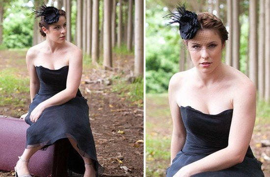 halloween wedding finds Etsy weddings bridesmaid hair accessory hat