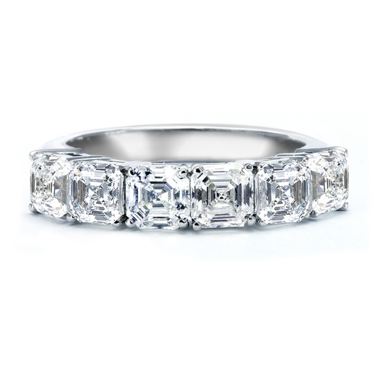 Royal Asscher Engagement Ring, style AV-B-2-126