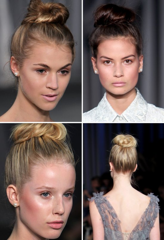 bridal beauty inspiration wedding hair makeup off the catwalk ballerina beautiful