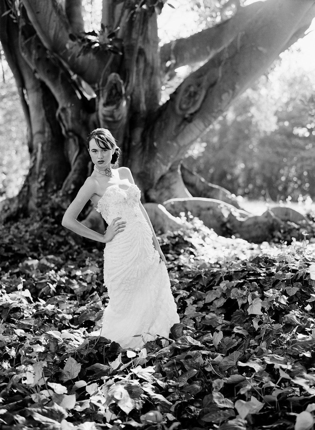 Styled-wedding-beaux-arts-tea-time-monique-lhuillier-santa-barbara-chic-bridal-gown-wedding-dress-photography-black-and-white-346.full