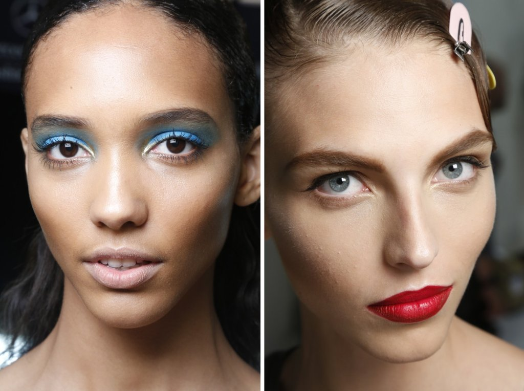 Bridal-beauty-inspiration-wedding-hair-makeup-off-the-catwalk-nude-vs-red-lips.full