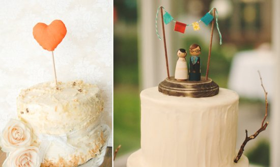 8 creative wedding cake toppers handmade weddings