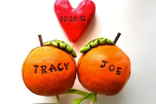 custom wedding cake topper halloween weddings