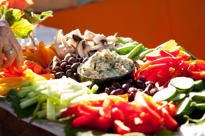 Real-wedding-santa-barbara-chic-michael-and-anne-costa-photography-outdoor-winery-vibrant-colors-food-veggies-plate-391.full