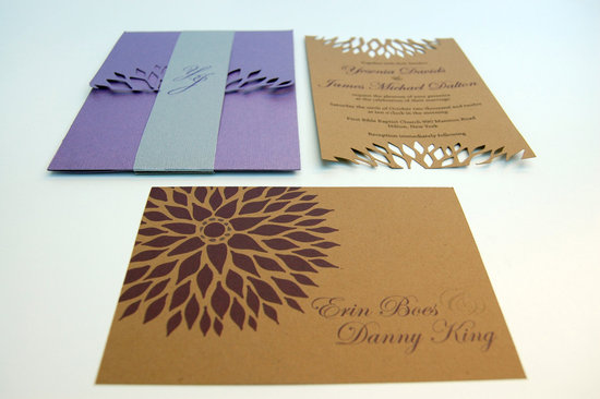 handmade wedding stationery decor using kraft paper Etsy weddings 9