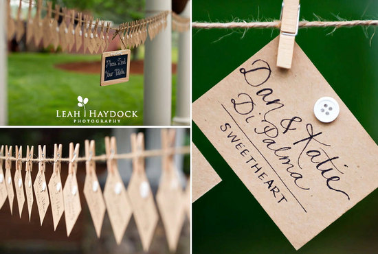 handmade wedding stationery decor using kraft paper Etsy weddings 10