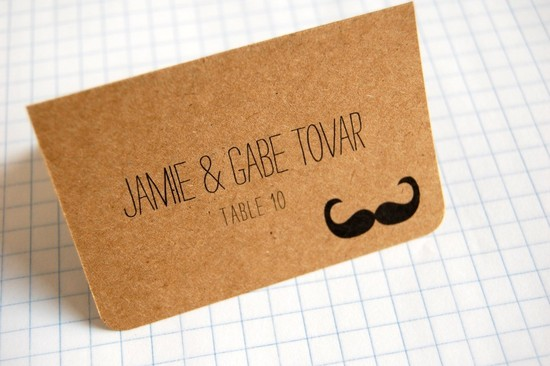 handmade wedding stationery decor using kraft paper Etsy weddings 12