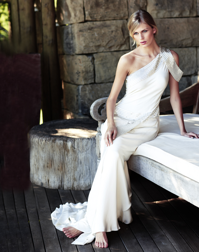 photo of Out Of Africa Wedding Dress Chic