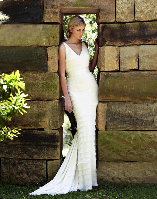 vintage inspired wedding gowns retro glam brides by Amanda Wakely 8