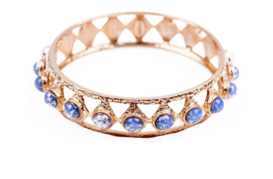 something blue wedding jewelry bridal bling from Lulu Frost bangle