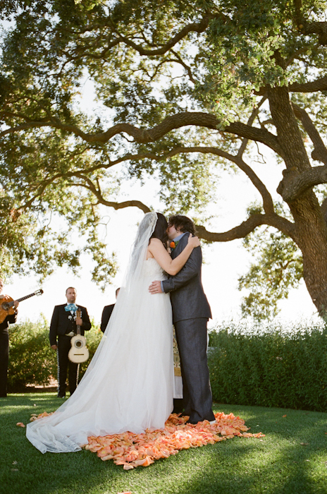Real-wedding-santa-barbara-chic-michael-and-anne-costa-photography-outdoor-winery-vibrant-colors-bride-and-groom-wedding-dress-suit-veil-ceremony-venue-vows-174.full