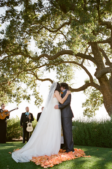 Real-wedding-santa-barbara-chic-michael-and-anne-costa-photography-outdoor-winery-vibrant-colors-bride-and-groom-wedding-dress-suit-veil-ceremony-venue-vows-175.full