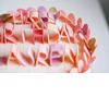 Custom-wedding-ideas-fondant-lettering-cake-topper-pastel-pink-peach.square