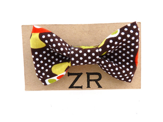 photo of wedding inspiration from Etsy polka dots funky bow tie