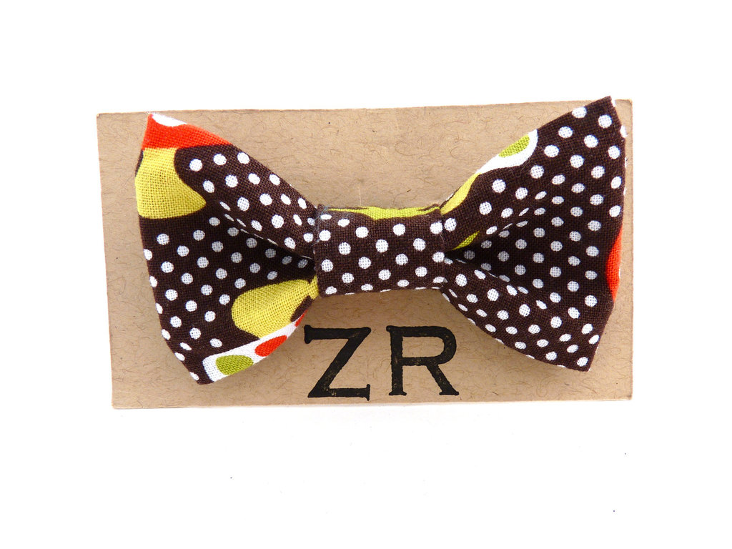 wedding inspiration from Etsy polka dots funky bow tie