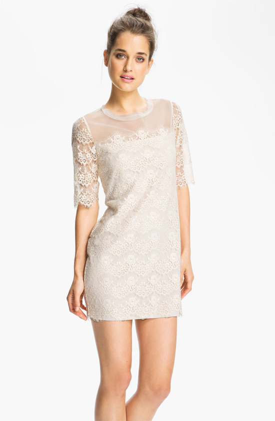 photo of Max & Cleo 'Lillian' Scalloped Lace Minidress at Nordstrom, $138.