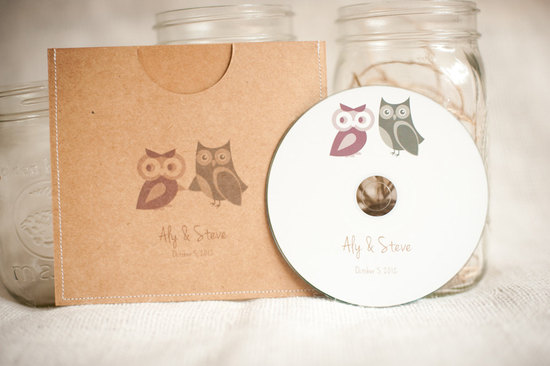 owls for the wedding 2012 reception trends handmade owl custom favors 2