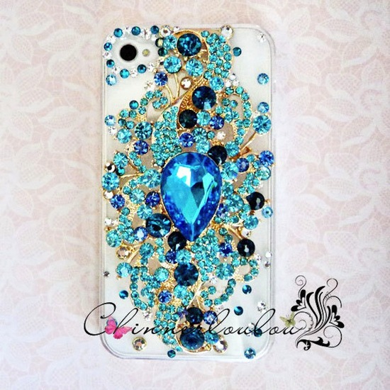 favorite iphone cases for brides something blue jeweled