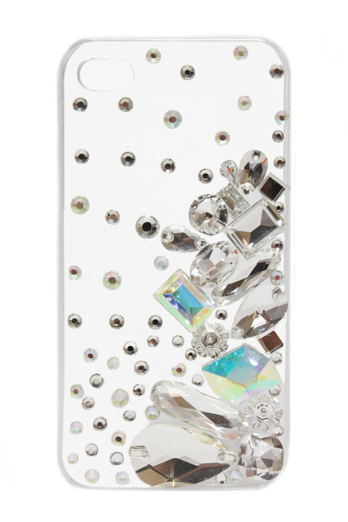 photo of favorite iphone cases for brides modern tech weddings white jeweled
