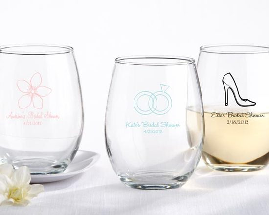 photo of 6 personalized wedding gifts for bridesmaids booze theme personalized bar glasses