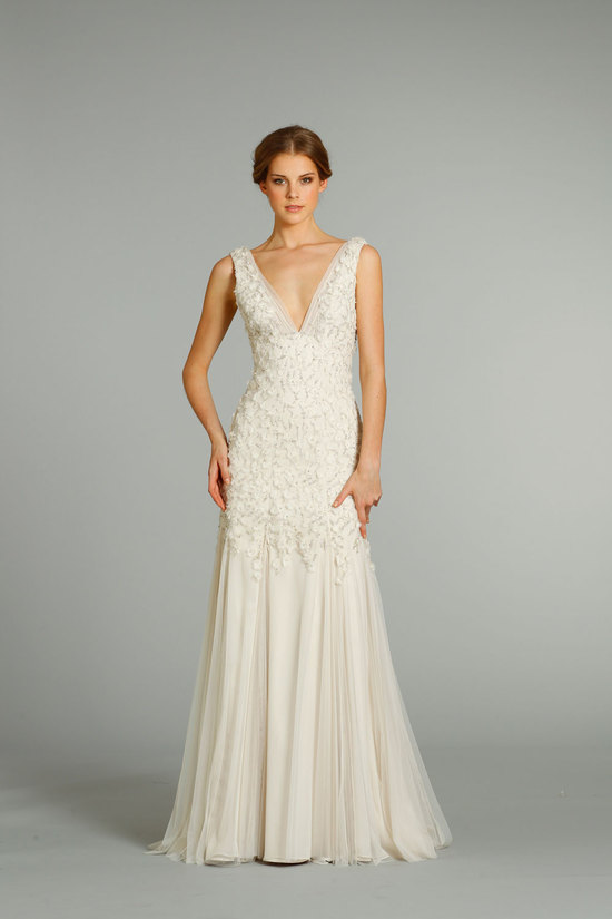 fall 2012 wedding dresses JLM couture bridal Jim Hjelm 8265 Front