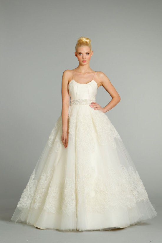 fall 2012 wedding dresses JLM couture bridal Jim Hjelm 8263 Front