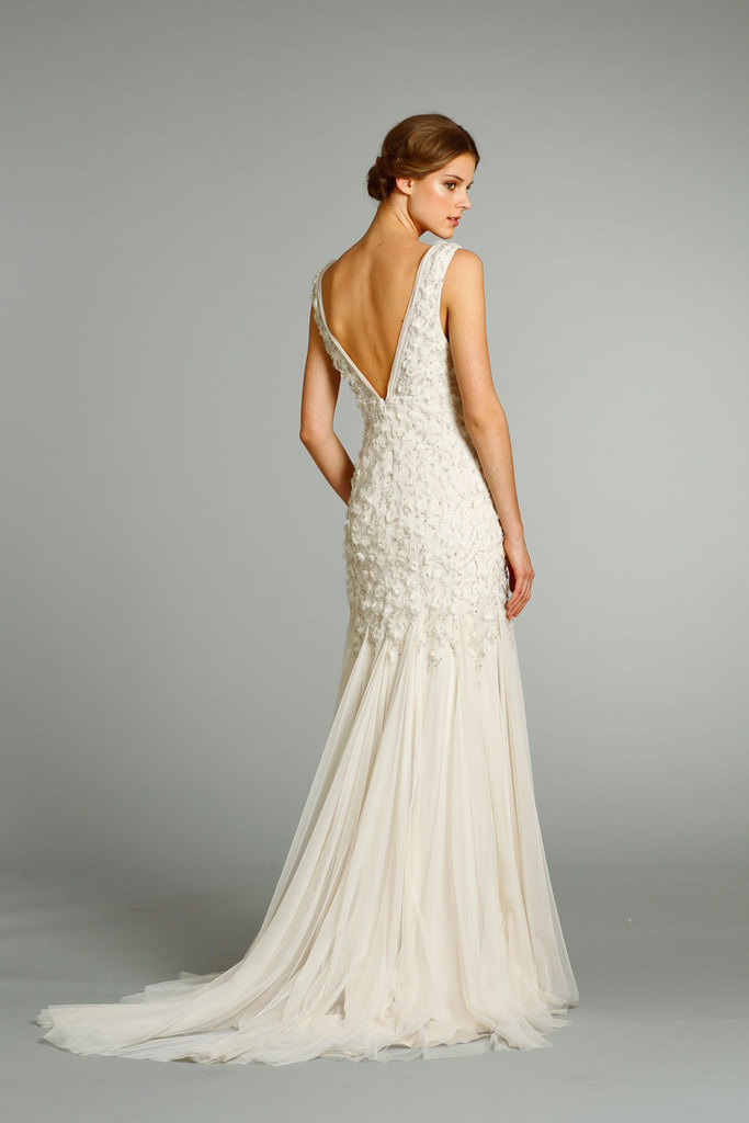 photo of fall 2012 wedding dresses JLM couture bridal Jim Hjelm 8265 Front
