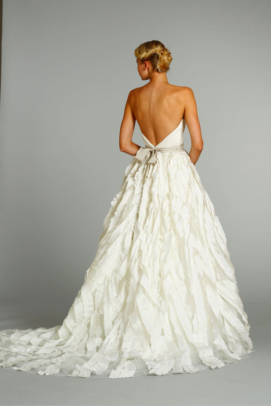 fall 2012 wedding dresses JLM couture bridal Jim Hjelm 8267 Front