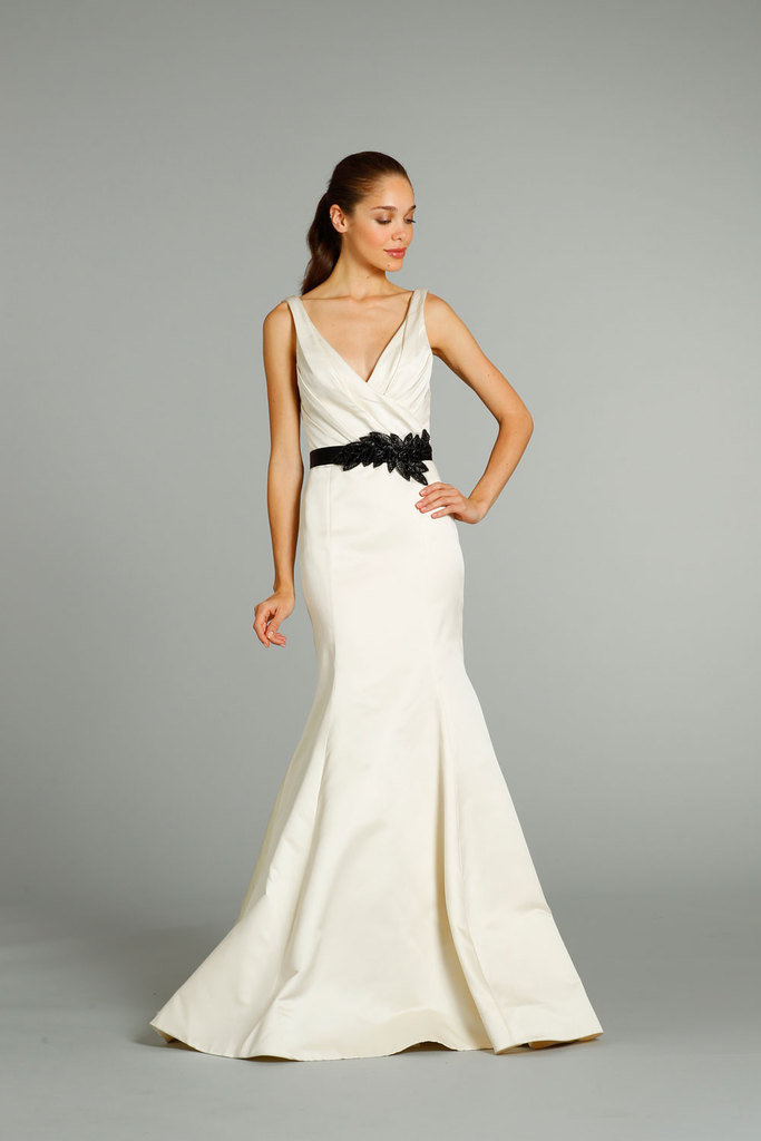 photo of fall 2012 wedding dresses JLM couture bridal Jim Hjelm 8258 Front