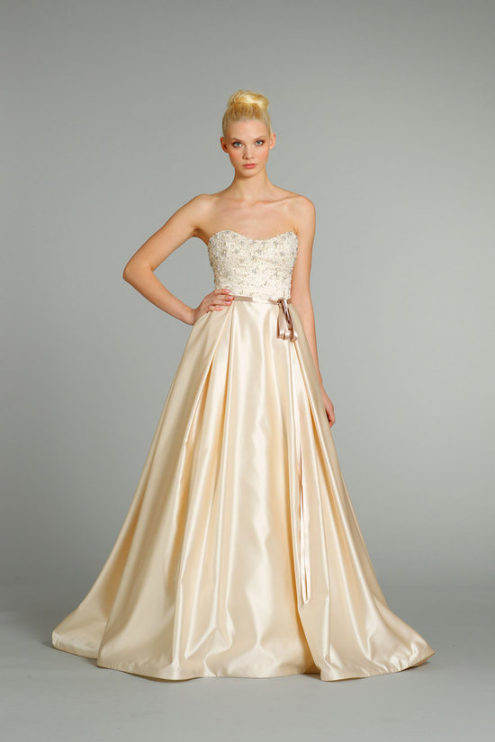 fall 2012 wedding dresses JLM couture bridal Jim Hjelm 8257 Front