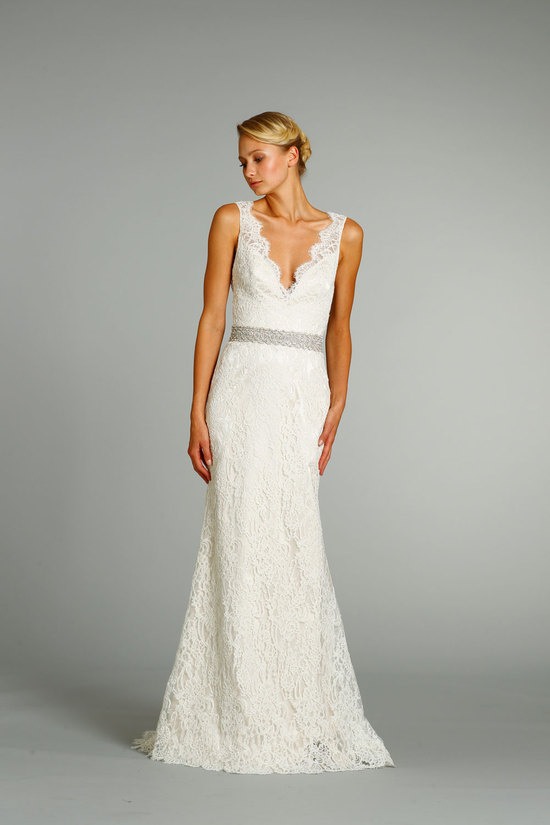 fall 2012 wedding dresses JLM couture bridal Jim Hjelm 8254 Front