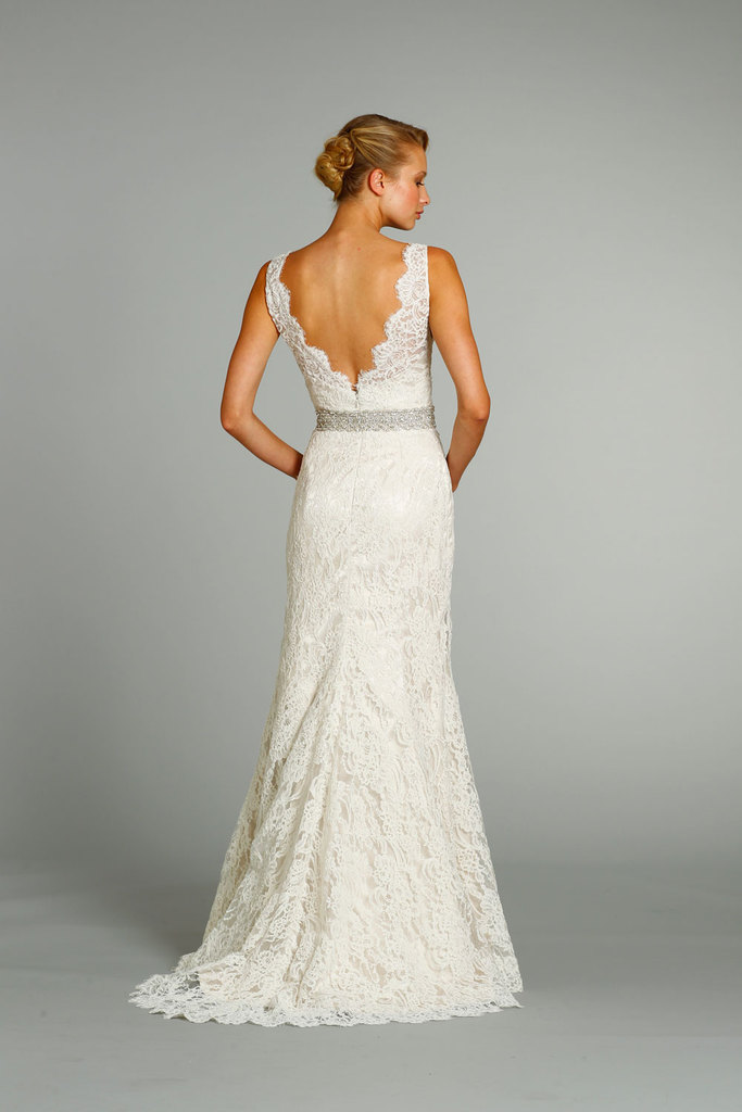 photo of fall 2012 wedding dresses JLM couture bridal Jim Hjelm 8254 Front
