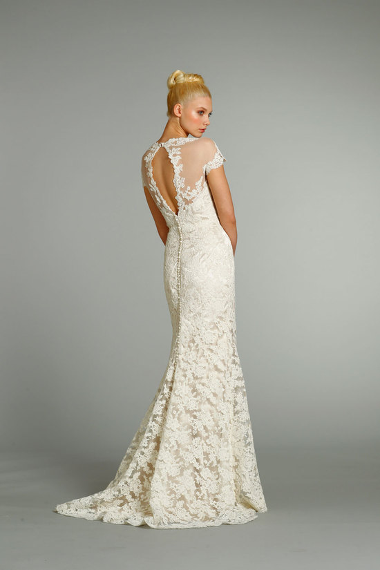 fall 2012 wedding dresses JLM couture bridal Jim Hjelm 8252 Front