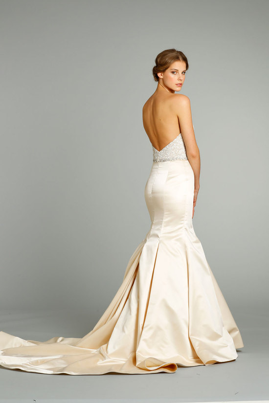 fall 2012 wedding dresses JLM couture bridal Jim Hjelm 8250 Front