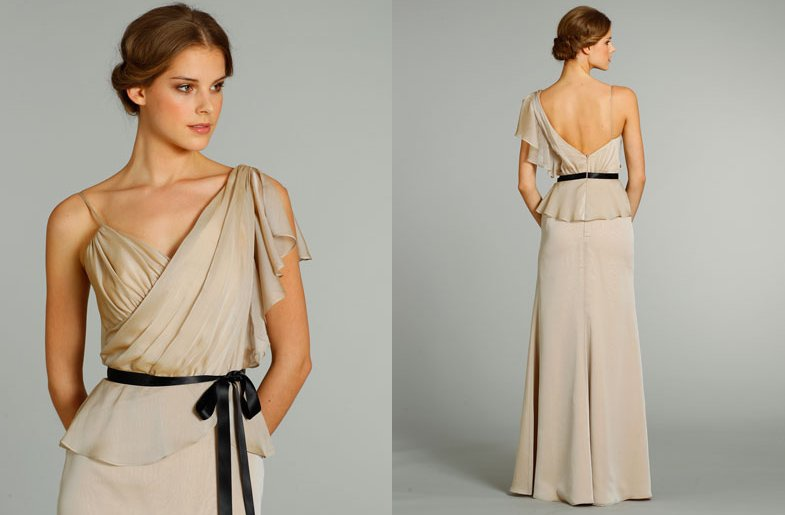 Bridesmaids-dresses-for-stylish-bridal-parties-noir-by-lazaro-from-jlm-couture-taupe-one-shoulder.full