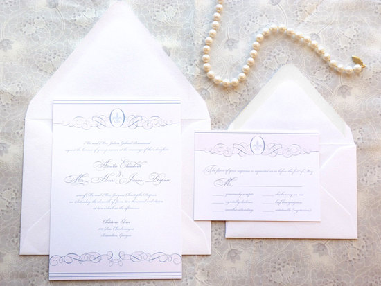weddings by style Parisian romance wedding decor inspiration romantic invites