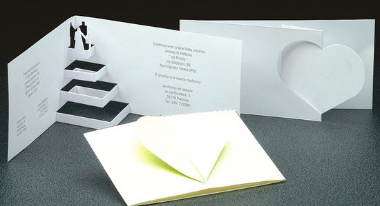 photo of amazing wedding invitation pop up card invites 4