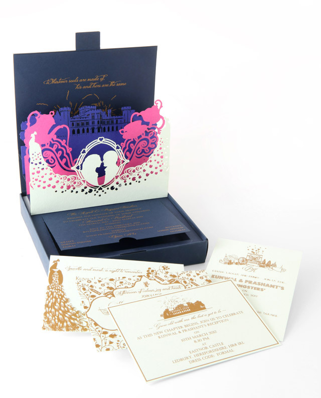 Unique-wedding-stationery-pop-up-invitations-navy-gold-pink.full
