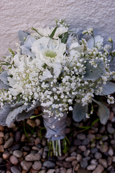 White Queen Anne Bouquet