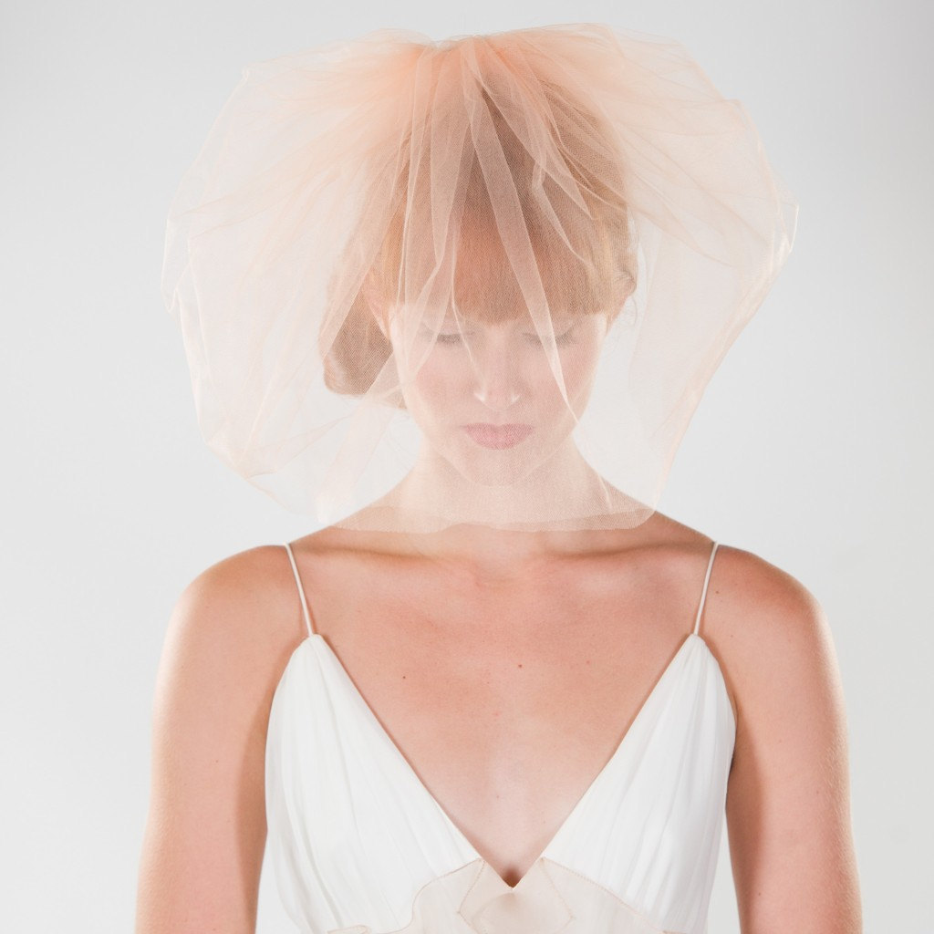 Gorgeous-bridal-veil-light-peach-tulle-blusher.full