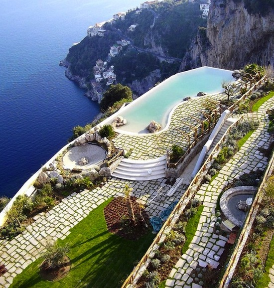 photo of Monastero Santa Rosa Hotel & Spa via The Fancy
