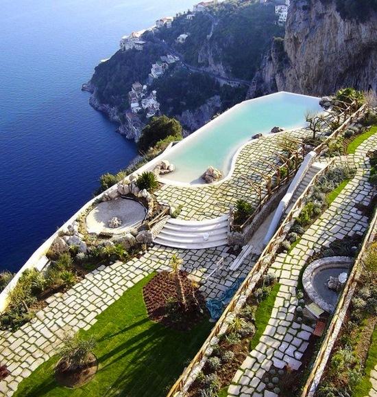 photo of Monastero Santa Rosa Hotel & Spa via The Fancy