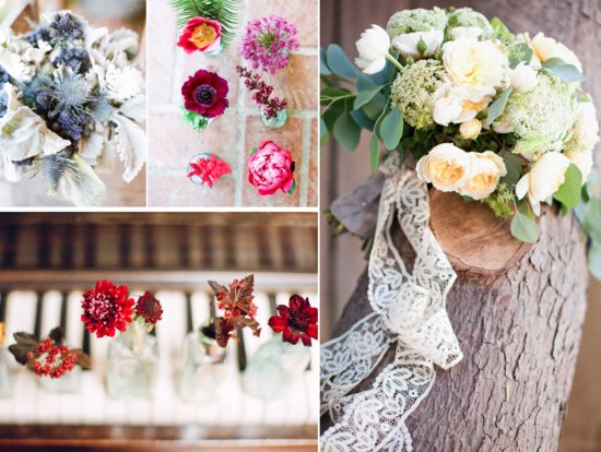 5 wedding flower projects brides can DIY